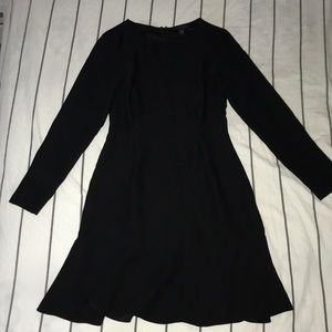 Banana republic black petite size OO dress